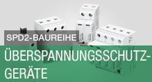 SPD2-Baureihe – Überspannungsschutzgeräte