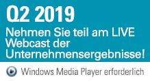 Q2 2019 Webcast